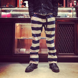 May club -【WESTRIDE】BORDER LONG PANTS NVY/BEG