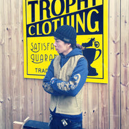 May club -【Trophy Clothing】LOW GAUGE KNIT