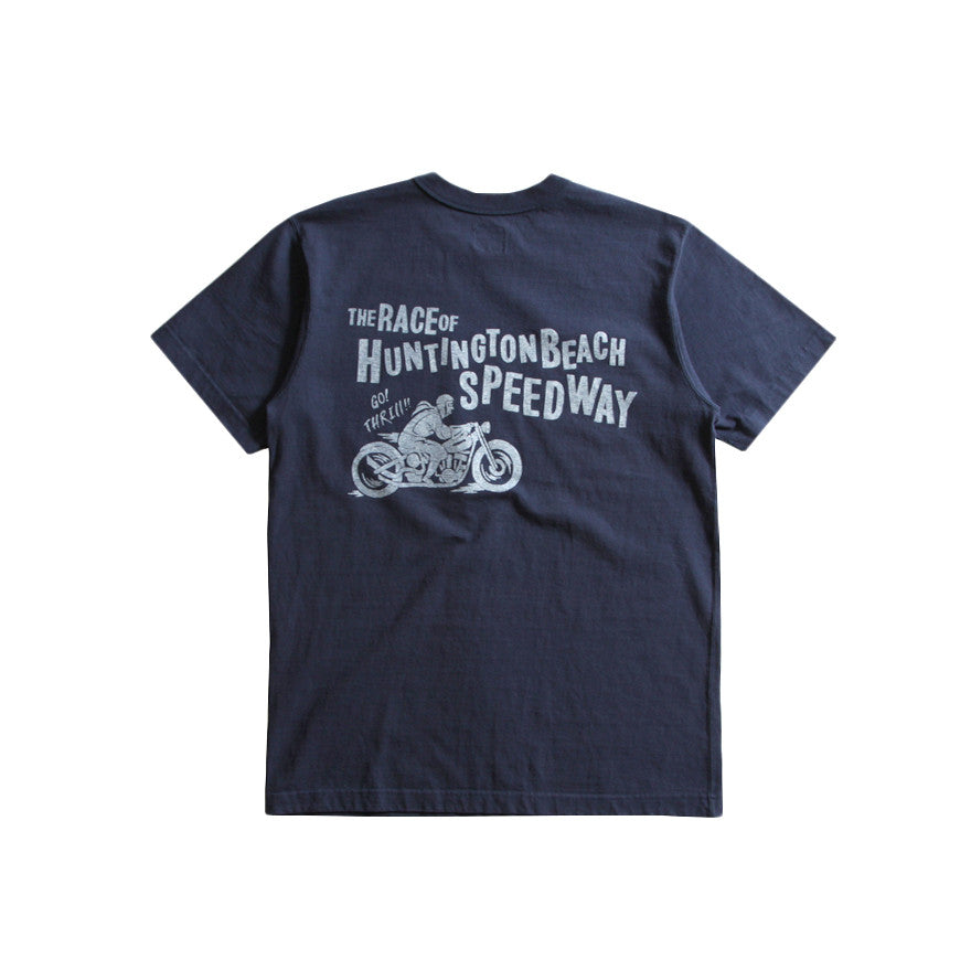 "May club -【WESTRIDE】""GO THRILL"" TEE - NAVY"