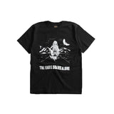 "May club -【WESTRIDE】""THE EAGLE SOARS ALONE"" TEE - BLACK"