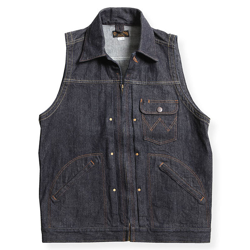 May club -【WESTRIDE】BULLSHIT VEST - BLUE