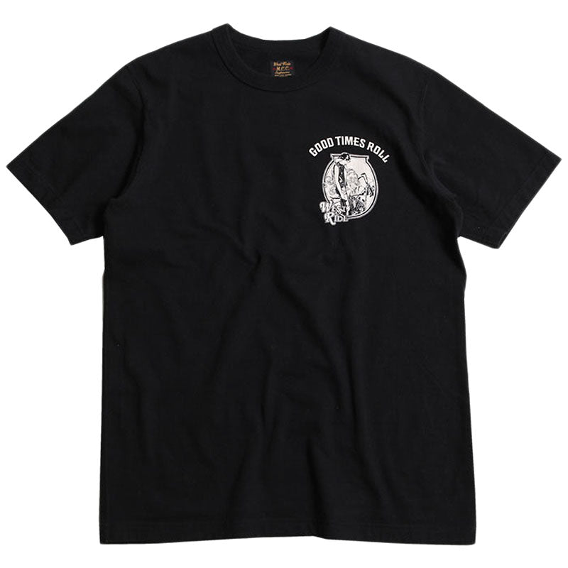 "May club -【WESTRIDE】""GOOD TIMES ROLL"" TEE - BLACK"