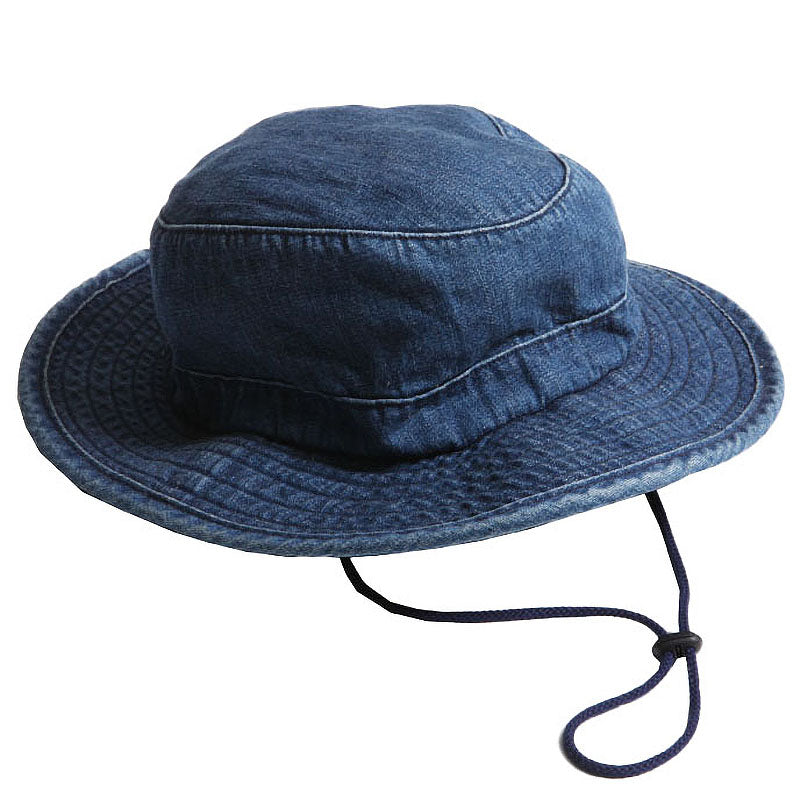 May club -【WESTRIDE】BOONIE  HAT - USED BLUE DENIM