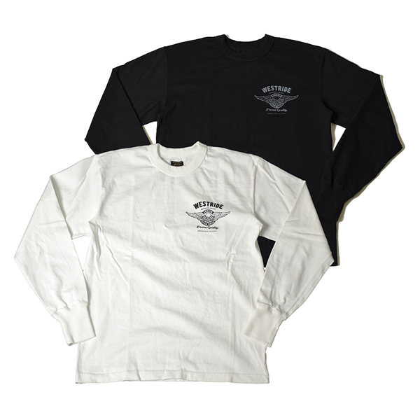 May club -【WESTRIDE】1976年 哈雷紀念圖 LONG SLEEVES TEE