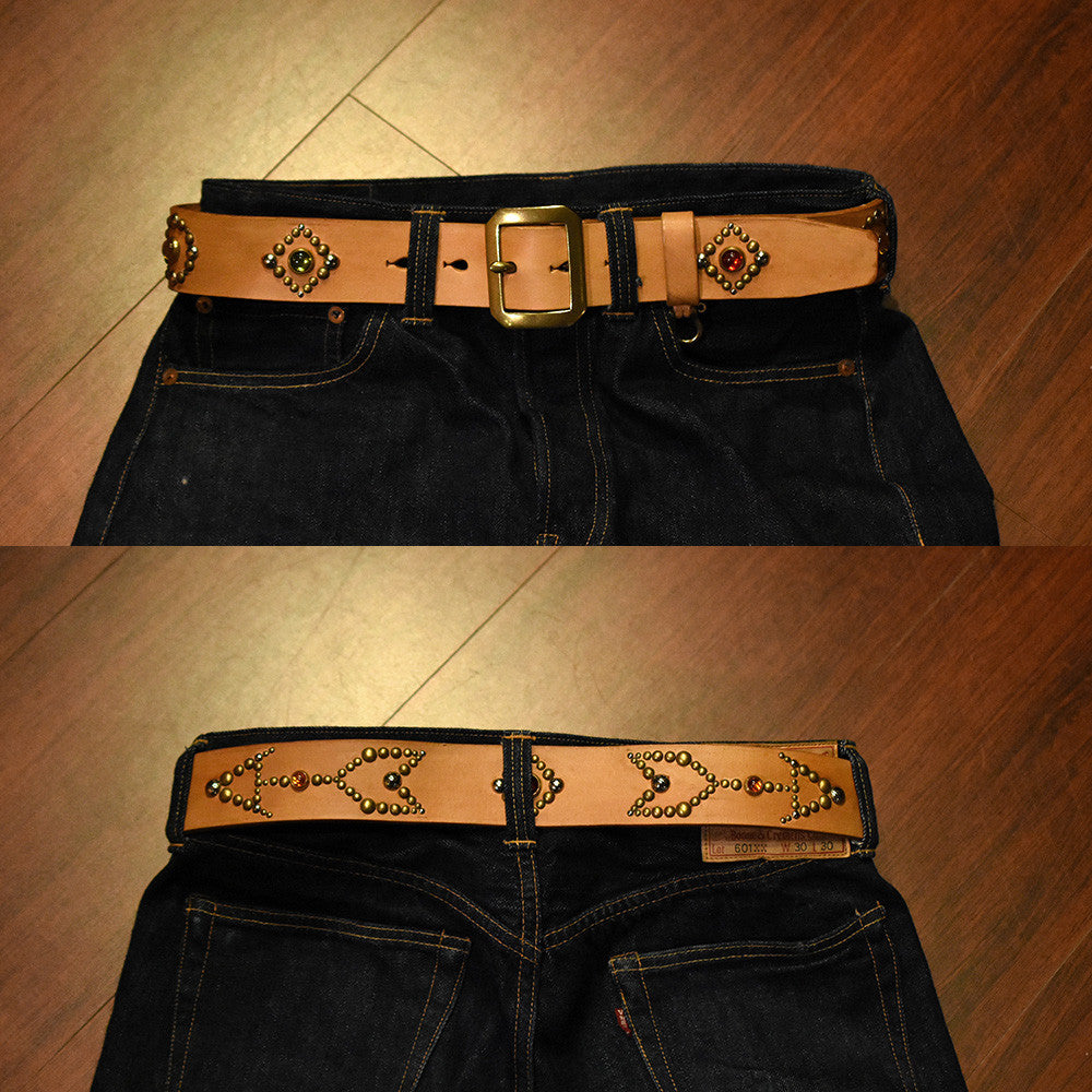 May club -【May club】May club x Urban Soul 聯名限定特製款 WESTERN BELT - W30