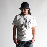 "May club -【WESTRIDE】""SLING SHOT CUTE BOY"" TEE - WHITE"