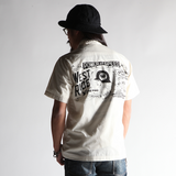 May club -【WESTRIDE】SNAP WORK S/S SHIRTS - WHITE
