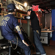 May club -【May club】MAY CLUB x BRAVO ZULU TATTOO  5週年紀念 TEE - NAVY