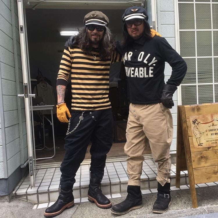 May club -【HARDLY-DRIVEABLE】LIGHT JODHPURS PANTS - BLACK