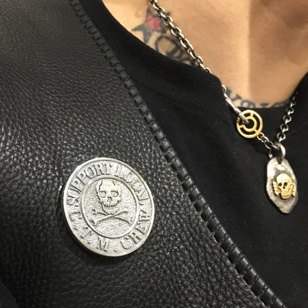 May club -【CxTxM】BIKERS UNITED BADGE - SILVER 925