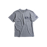 "May club -【WESTRIDE】""CHOPPER SAVED MY LIFE"" TEE - GREY"
