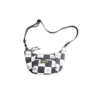 MINI CHECKER SHOULDER BAG