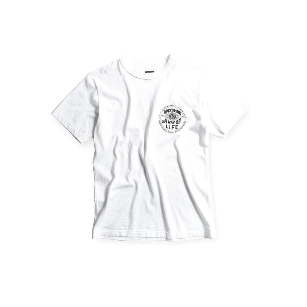 "May club -【WESTRIDE】""A WAY OF LIFE"" TEE - WHITE"