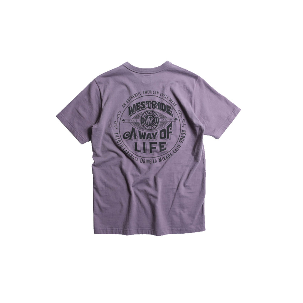 "May club -【WESTRIDE】""A WAY OF LIFE"" TEE - WIST"