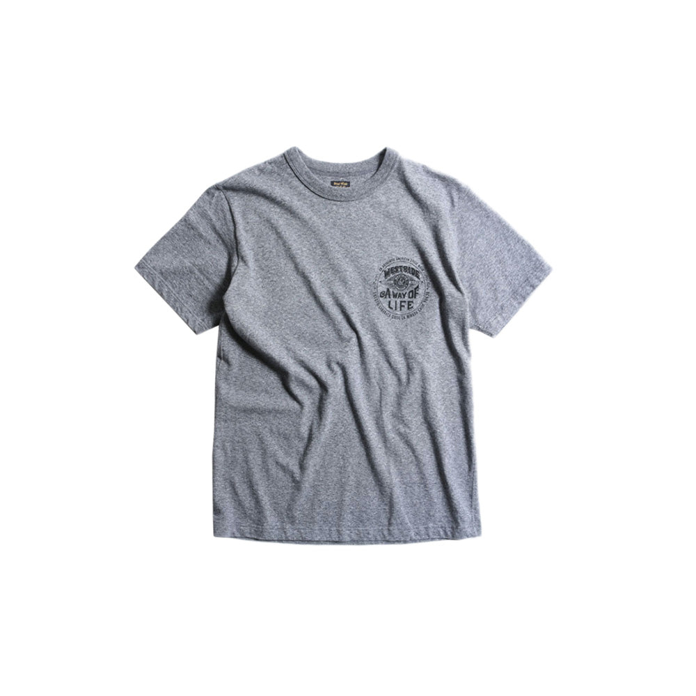 "May club -【WESTRIDE】""A WAY OF LIFE"" TEE - GREY"