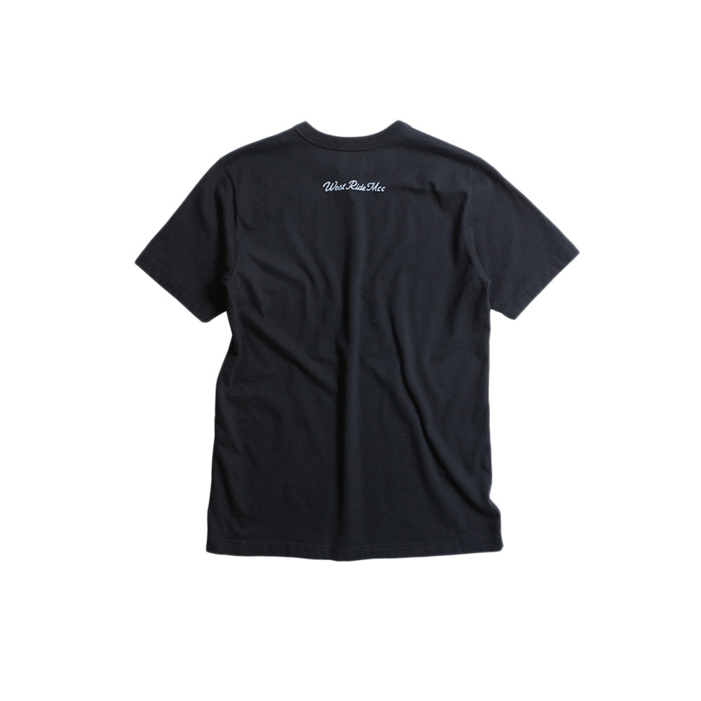 "May club -【WESTRIDE】""HOW DO YOU DO"" TEE - BLACK"