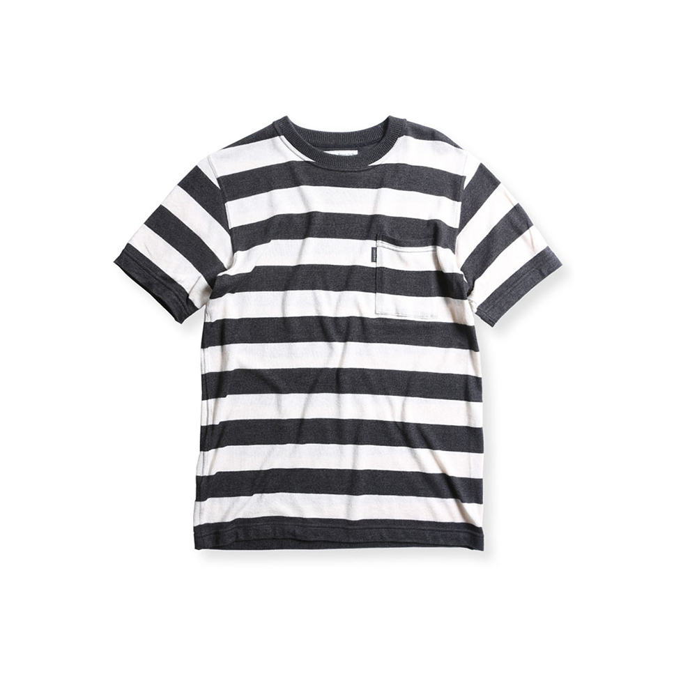 May club -【WESTRIDE】CAROLINA SHORT SLEEVE TEE - CHCL/CRM
