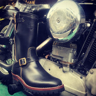 May club -【HARDLY-DRIVEABLE】40's engineer boots