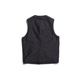 May club -【Addict Clothes】ACV-V02 ULSTER VEST - BLACK