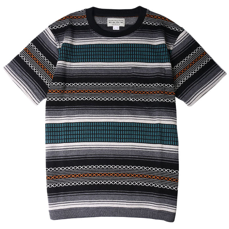 May club -【WESTRIDE】NGT RUG TEE - BLUE