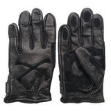 May club -【WESTRIDE】CROSS BONE GLOVE - BLACK x BLACK