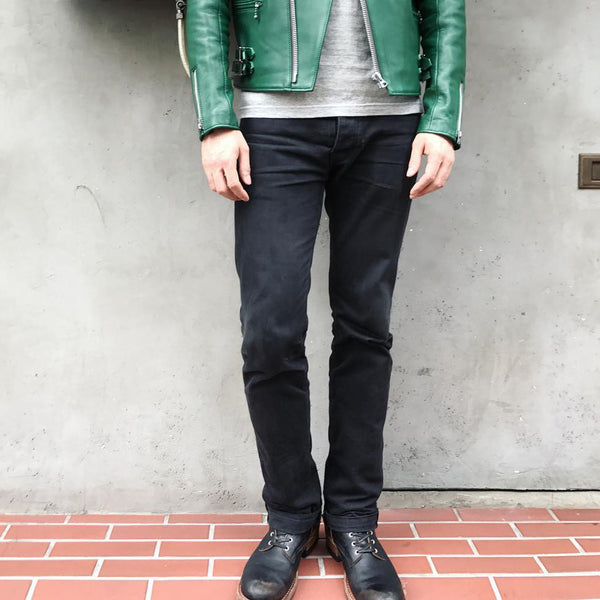 May club -【Addict Clothes】ACV-P-01 TAPERED DENIM - BLACK