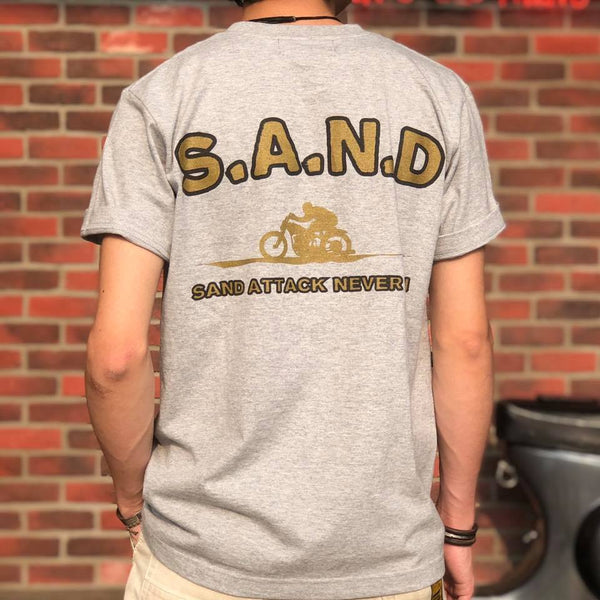 SPEED ON S.A.N.D TEE - GREY
