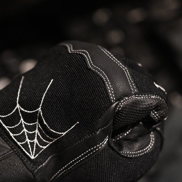 TEXTILE GLOVE - SPIDER WEB(BLACK)