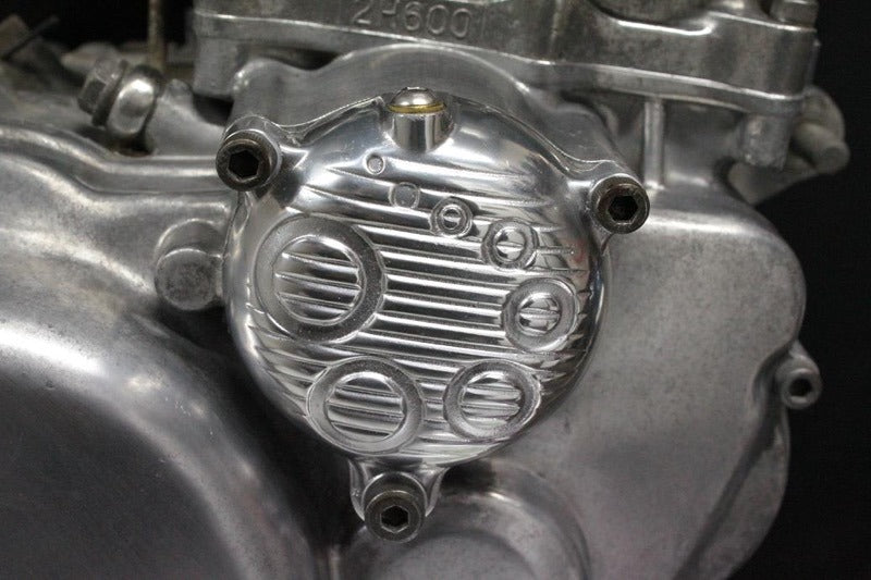 May club -【Fork】6112 Oil filter cover for SR400 / SR500 - LUXE