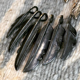 May club -【May club】BLACK KNIFE FEATHER (M)