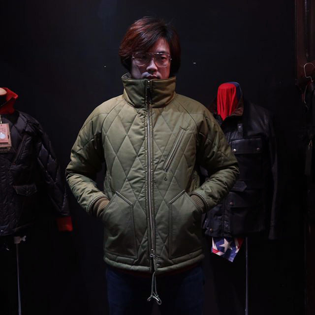May club -【WESTRIDE】MID VENTILE JACKET - OLIVE