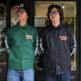 May club -【WESTRIDE】GARBAGE WAGON COACH JACKET - GREEN