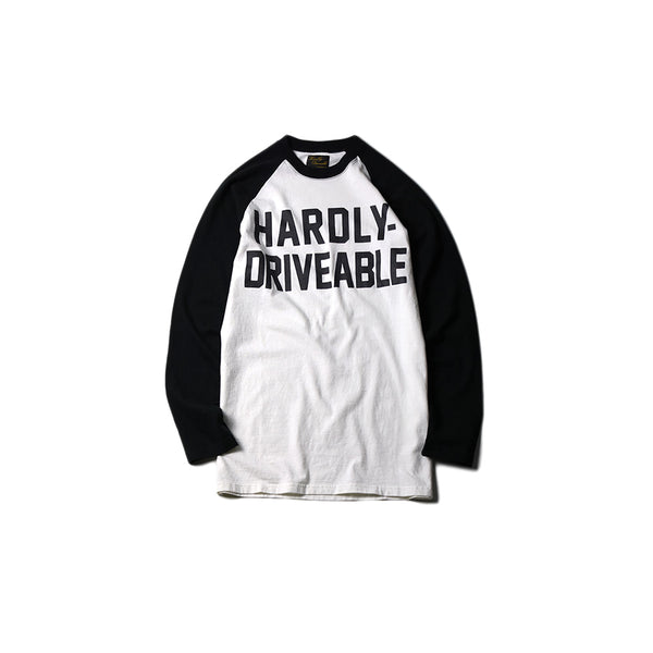 Logo Long Sleeve T-Shirt (Straight-Black)