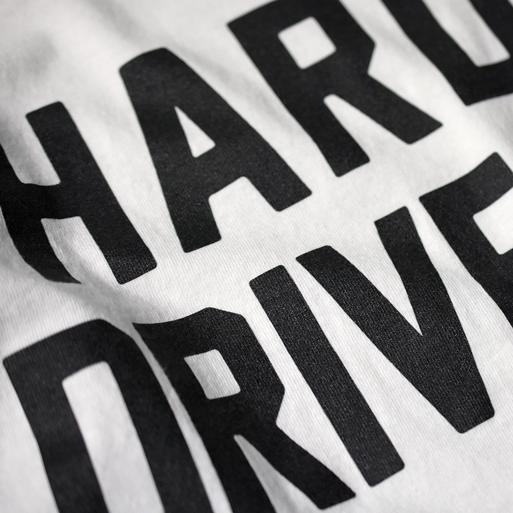 May club -【HARDLY-DRIVEABLE】Logo Long Sleeve T-Shirt (Straight-Black)