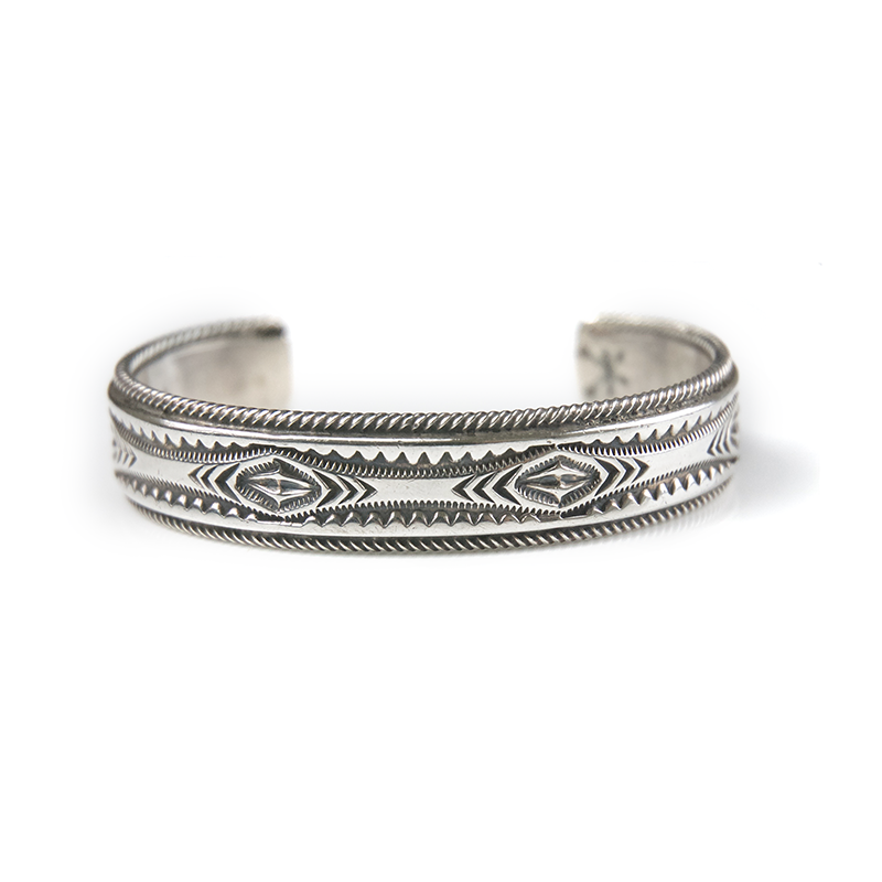 May club -【Navajo】Twisted Wire Stamped Bracelet