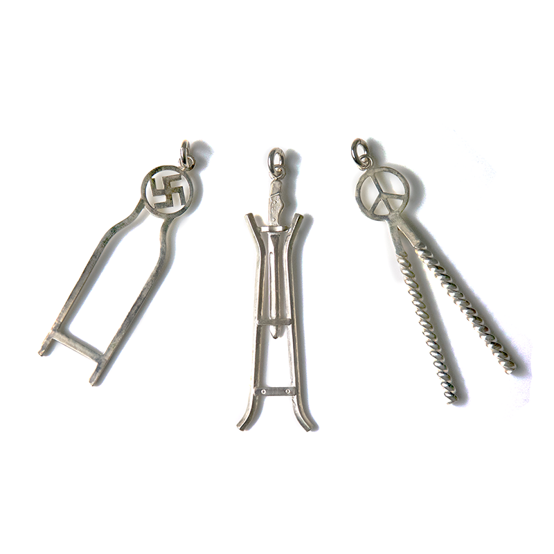 May club -【WESTRIDE】Sissy Bar Keychain Silver