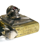 May club -【Stop Light】Skull Cross Zippo