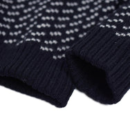 May club -【WESTRIDE】SHAWL COLLAR SWEATER - BIRDS EYE