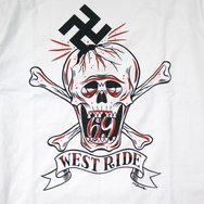 "May club -【WESTRIDE】""Stuck On Skull"" 短T"