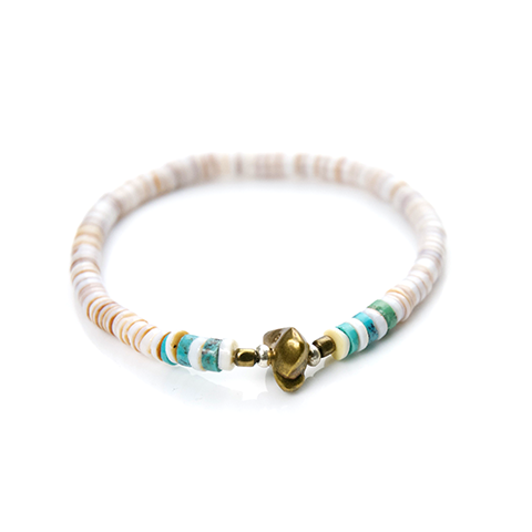 May club -【SunKu】Heishi Shell Bracelet