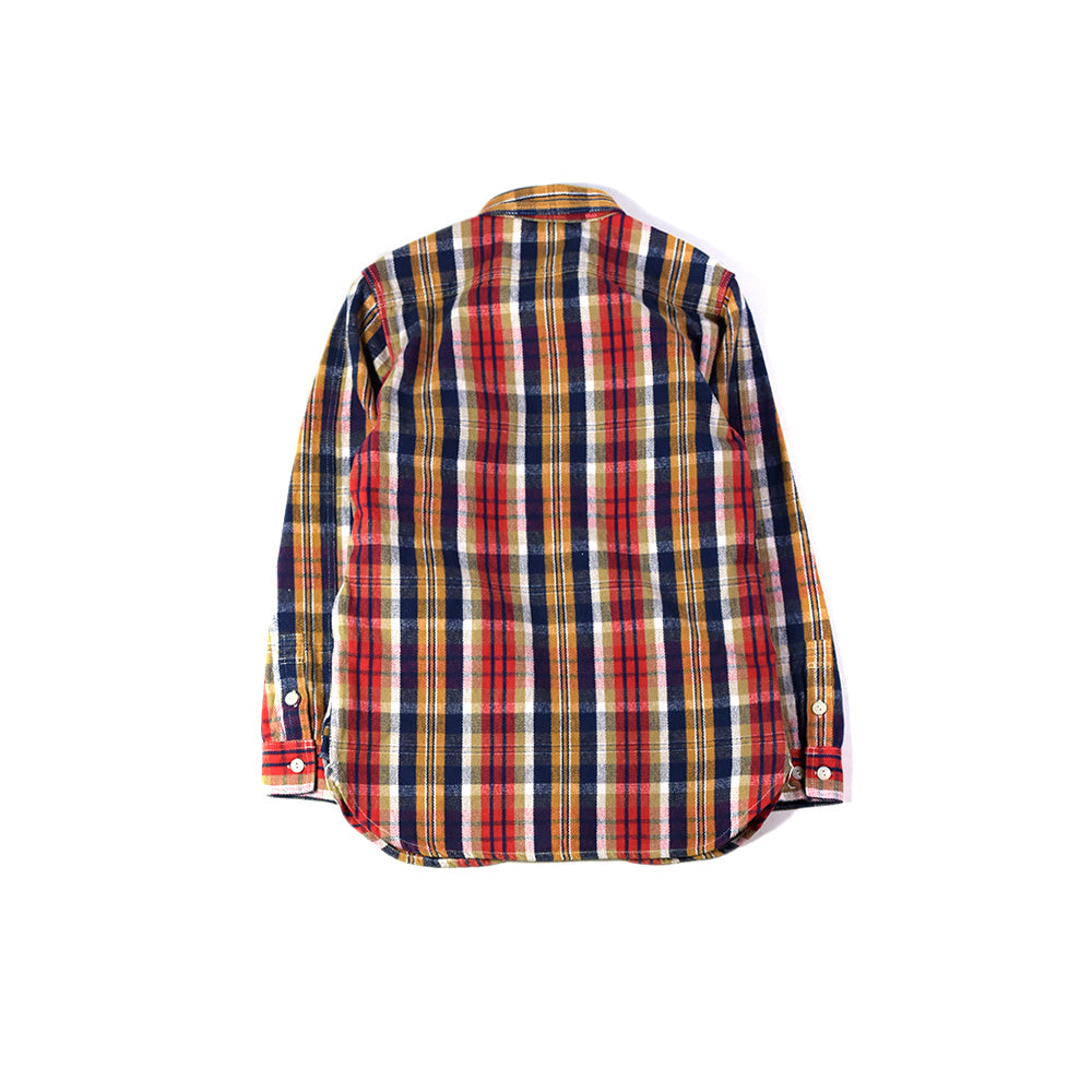May club -【WESTRIDE】PCH SHIRTS - RED CHECK