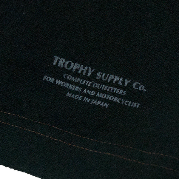 "May club -【Trophy Clothing】""BOX LOGO"" 口袋滾筒短T"