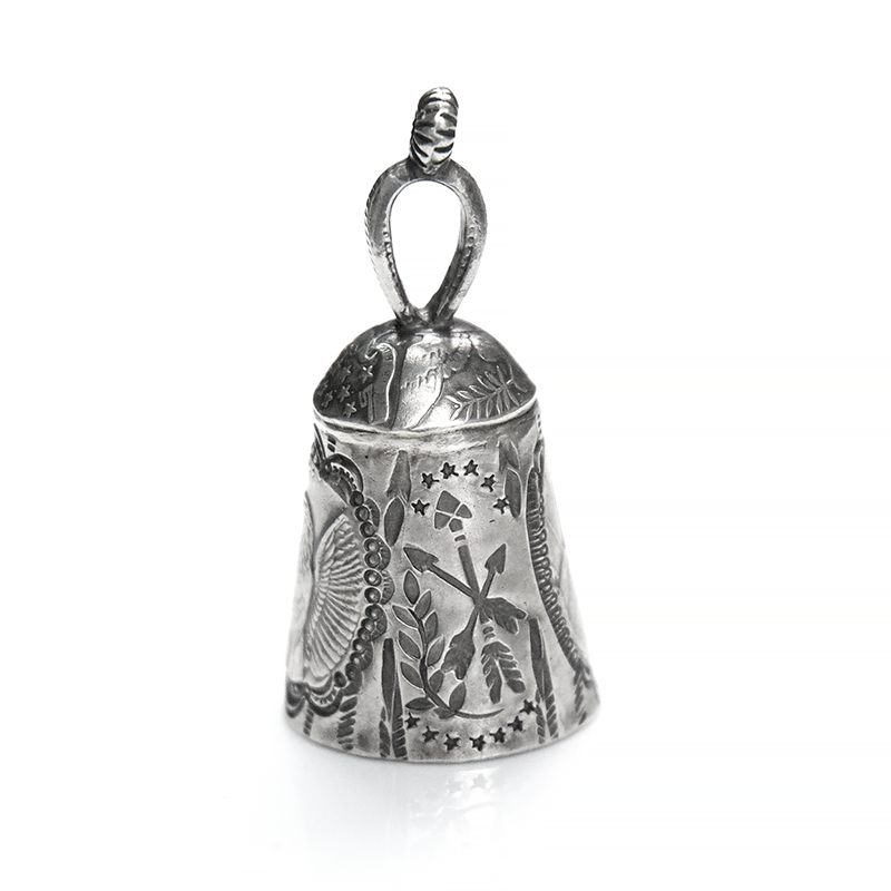 "May club -【Chooke】Liberty Bell Pendant Top ""Eagle Bell"""
