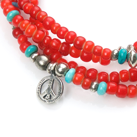May club -【SunKu】Long Necklace & 4Strings Bracelet