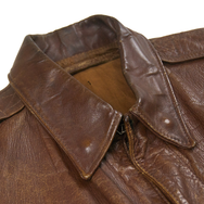 May club -【Vintage】WW2 J.A. Dubow A-2 HORSEHIDE FLIGHT JACKET