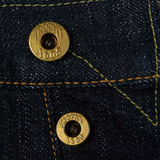 May club -【Trophy Clothing】1606SW W KNEE STANDARD DIRT DENIM