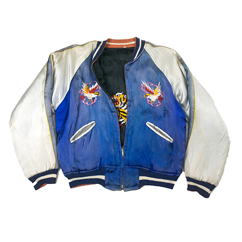 【Vintage】橫須賀外套 雙面穿<p>Souvenir Jacket - May club