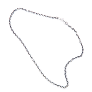 May club -【SunKu】Oval Silver Chain (L)