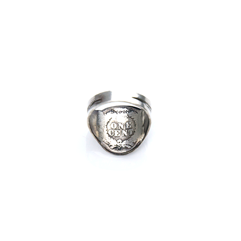May club -【Chooke】酋長骷髏戒 S<p>Indian Skull Ring