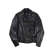 May club -【Vintage】50's BUCO J-24-L D-POCKET STEERHIDE LEATHER MOTORCYCLE JACKET